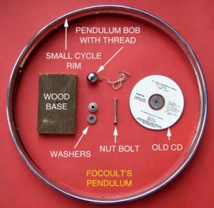 Foucault's Pendulum - Toys from Trash by Arvind Gupta
