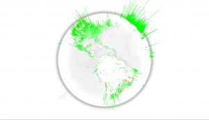 WebGL-Globe-Emotiglobe