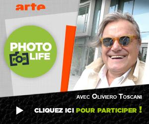 Sebastian Waack - ARTE Photo For Life with Oliviero Toscani