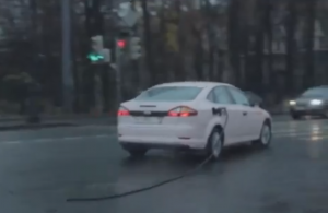 Driving a car in Russia