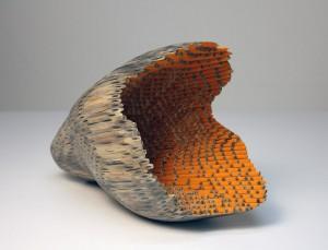 Pencil sculpture by Jessica Drenk