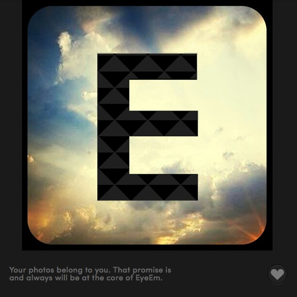 This is the best instagram alternative: Berlin based start-up Eyeem - your photos belong to you.