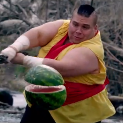 Real-Life Fruit Ninja
