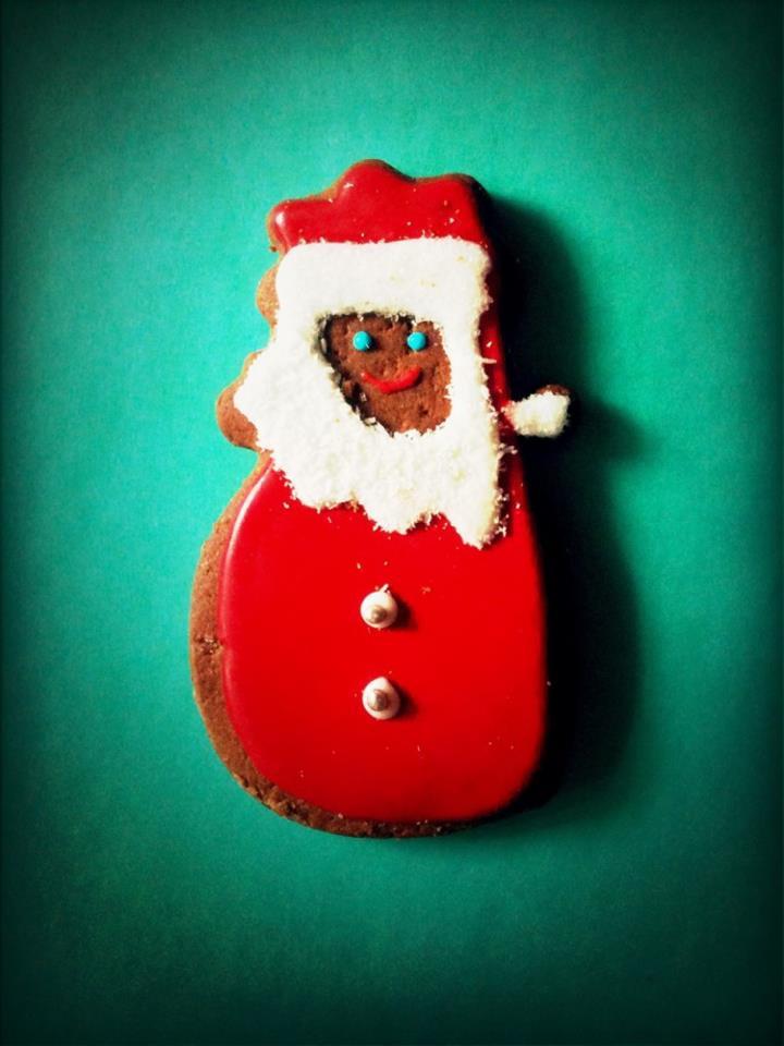 Merry Christmas. Santa Claus cake. waack.org